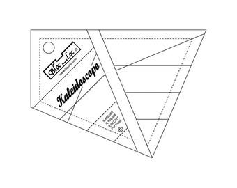 """Bloc-Loc - Kaleidoscope Ruler 4"""" - Quilting Tool"""