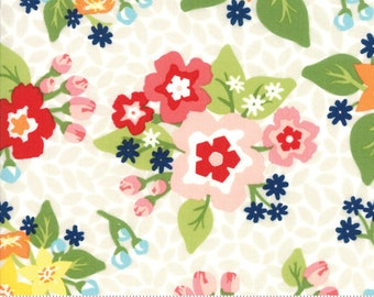 Orchard Blossom - White - April Rosenthal Orchard for Moda Fabrics (24070 11)