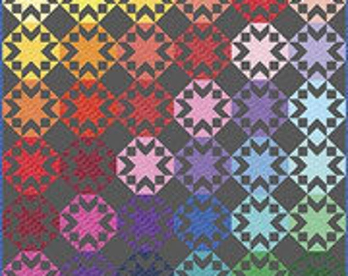 Kaleidoscope Stars Quilt Kit by Riley Blake Designs (KT0137)