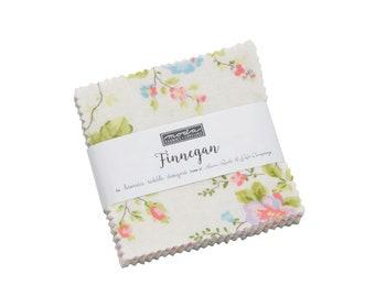 Finnegan by Brenda Riddle (Acorn Quilts) Mini Charm Pack (18680MC) -  - Finnegan Mini Charm Pack for Moda Fabrics