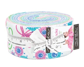 IN STOCK: Flower Sacks Jelly Roll by Me and My Sister -  (22350JR)