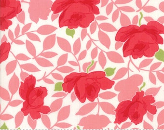 Little Snippets Coral Vintage Rose by Bonnie & Camille for Moda Fabrics (55180 13)
