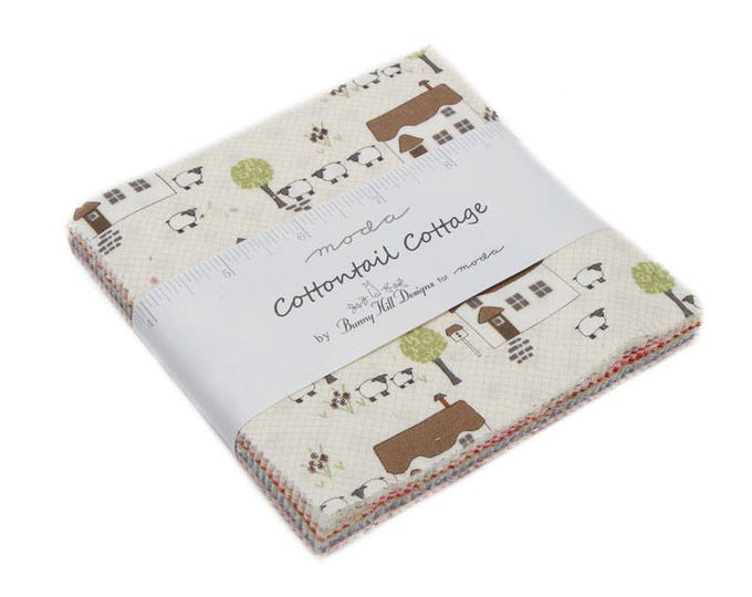 Cottontail Cottage (2920PP) by Bunny Hill Designs - Charm Pack