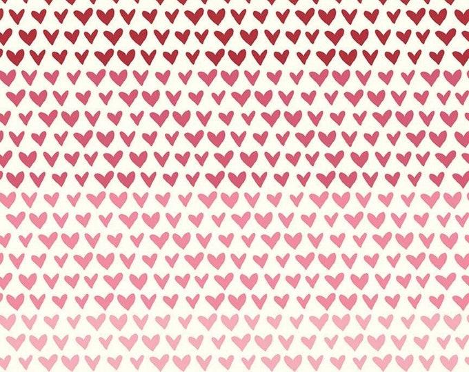Hello Sweetheart Gradient Cream fabric by Echo Park Paper Co. for Riley Blake Designs (C7623-CREAM)
