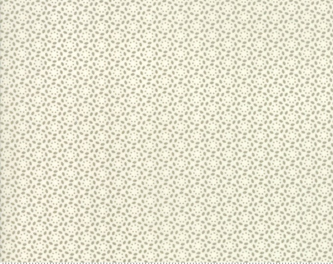 Sweet Tea Lace in Vanilla Taupe by Sweetwater for Moda Fabrics - (5727-11) - 1/2 yard remnant