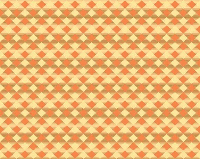 Bee Basics By Lori Holt Gingham Orange (C6400-Orange)