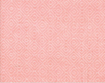 Bonnie and Camille Wovens Pink Diamond for Moda Fabrics  (12405 22) - Pink Print Fabric - Woven Fabric