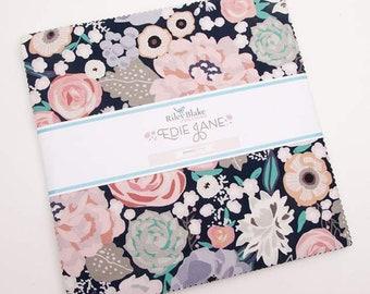 "Edie Jane 10"" Stacker  by Deena Rutter - Riley Blake Designs - Deena Rutter Edie Jane Layer Cake - Edie Jane Precut Fabric"
