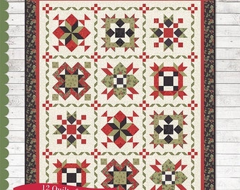 Holiday Wishes  By Sherri Falls of This and That Pattern Company - Sewing Book with 12 Quilt Patterns