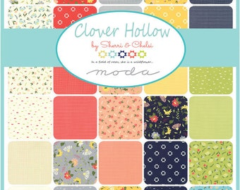 Clover Hollow Half Yard bundle by Sherri and Chelsi -  Complete set