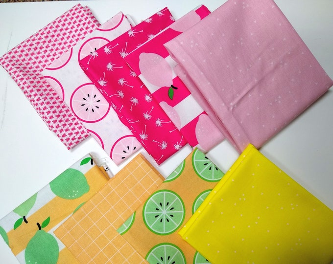Just Add Sugar by Simple Simon and Co. Fat Quarter Bundle - 9 FQs