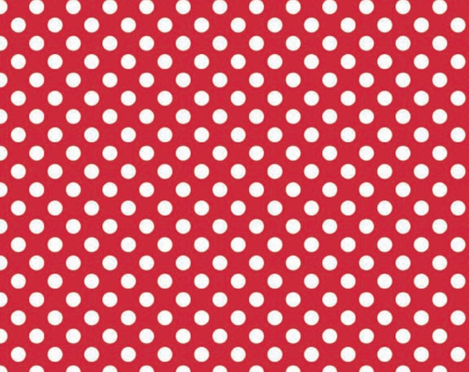 Small Dots in Red, Riley Blake Designs, (C350 80)