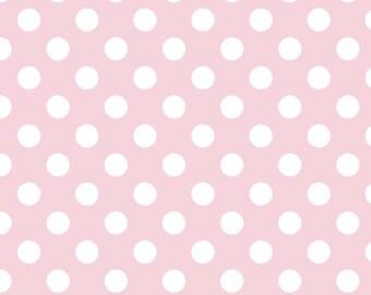 Medium Dots in Baby Pink, Riley Blake Designs (C360 75)