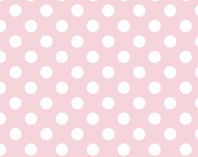Medium Dots in Baby Pink, Riley Blake Designs (C360 75)