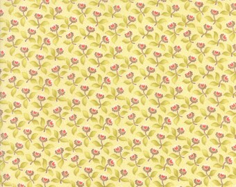 "Hazel and Plum (20291 17) Cream Plum Blossoms by Fig Tree & Co. - 26"" remnant"
