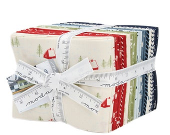 Wintertide by Janet Clare (1450AB) Fat Quarter Bundle - 31 FQ's