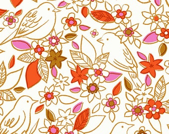 Aviary Ivory Botanical by Ruby Star Society for Moda Fabrics (RS5001 11) - Cut Options Available