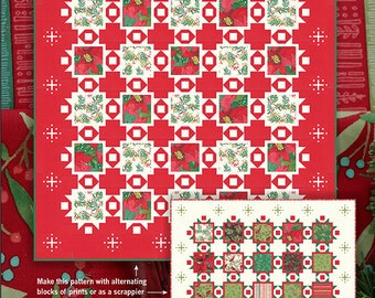 Joy and Delight Quilt Pattern by Robin Pickens for Moda Fabrics (RPQP JAD121)