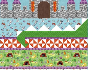 Dragon Dreams Quilt Pattern by Sandra Workman (Pine Mountain designs) (P026)