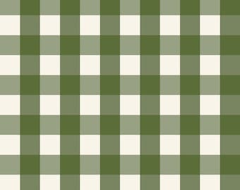 Winterberry - Green Check - My Mind's Eye - Riley Blake Designs - Christmas Fabric - Cut Options Available (C8448 GREEN)