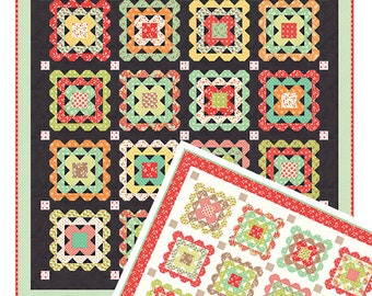 Crochet Quilt Pattern by Fig Tree & Co. Joann Figueroa (FT 1502) - Fat Quarter Friendly!
