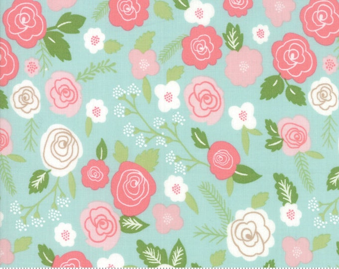 Lollipop Garden Springtime Blooms - Sky - Lollipop Garden by Lella Boutique - (5080 15)