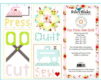 Lori Holt - Cut, Press, Sew, Quilt Kit