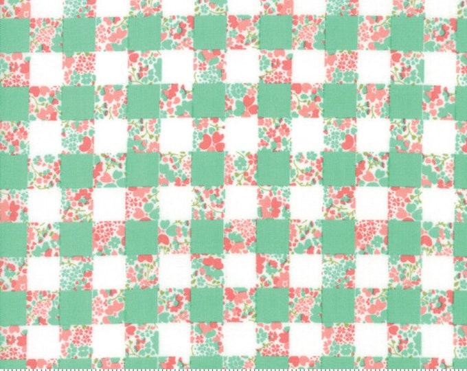Strawberry Jam Rainy Day Gingham Garden by Corey Yoder (Little Miss Shabby) for Moda (29063 18)