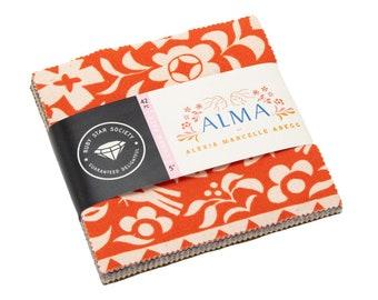 Ruby Star Society Alma Charm Pack - Alexia Abegg for Ruby Star Society and Moda Fabrics - RS4001PP