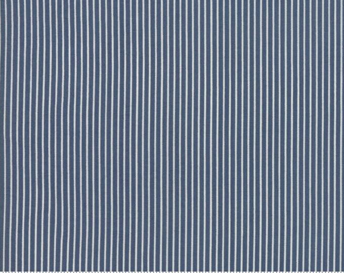 Sweet Tea Stripe in Navy by Sweetwater for Moda Fabrics - (5726-15)