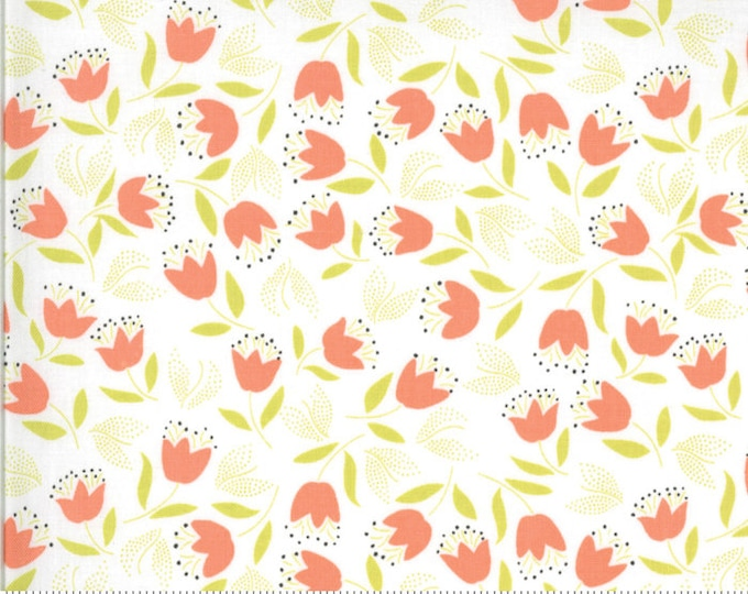 Fig Tree Chantilly Gerbera Tulips  by Fig Tree & Co. for Moda (20346-26)