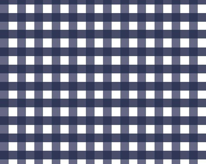 Woven 1/2 inch Gingham in Navy (WC460 NAVY) for Riley Blake Designs