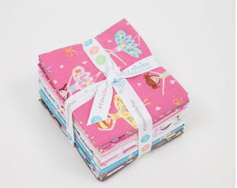 Ballerina Bows by Riley Blake Designs Fat Quarter Bundle (FQ-6950-15)