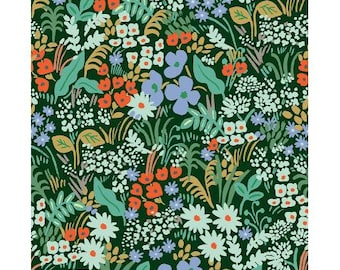 Meadow Hunter Meadow by Rifle Paper Co. for Cotton and Steel Fabrics (RP204-HU1) - Cut Options Available