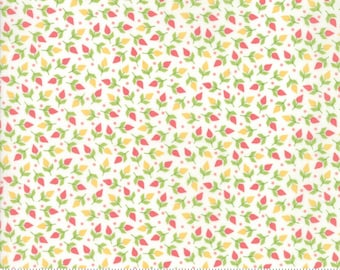 Sunnyside Up Tiny Buds Fluffy (White) by Corey Yoder (Little Miss Shabby) for Moda (29055 11)