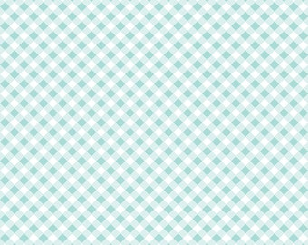 Seaside by Tasha Noel Seaside Gingham Aqua (C7236-Aqua)