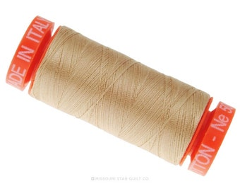 MK50 2314 - Aurifil Beige Cotton Thread