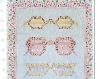 Bespectacled Quilt Pattern by Kelli Fannin Quilt Designs KFQP