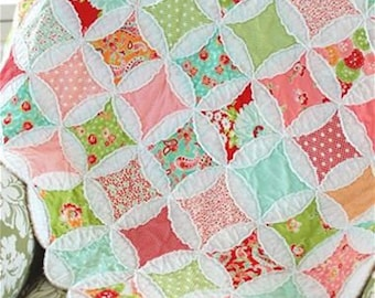 Abundantly Blessed Quilt Pattern (CW 914) - Cotton Way Quilt Pattern - Charm Pack Friendly!