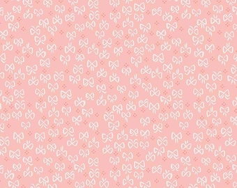 Little Red In The Woods Bows Pink (C8085-PINK by Jill Howarth