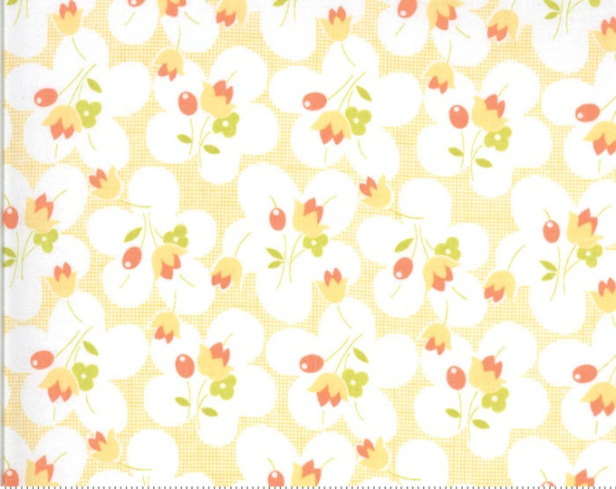 Fig Tree Chantilly Melon Posies by Fig Tree & Co. for Moda (20342-13)