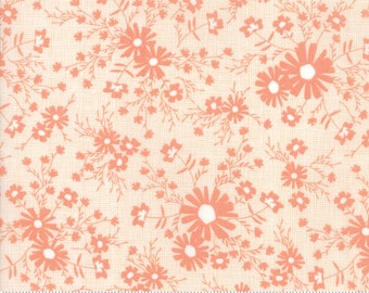 Sunnyside Up Meadow Coral (Peach) by Corey Yoder (Little Miss Shabby) for Moda (29054 15)