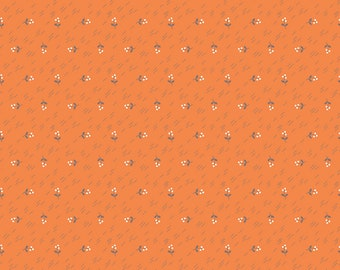 Autumn Love by Lori Holt Berries Orange (C7371-ORANGE)