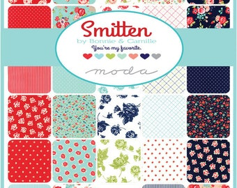 Pre-order - Smitten Half Yard bundle by Bonnie and Camille -  Complete set
