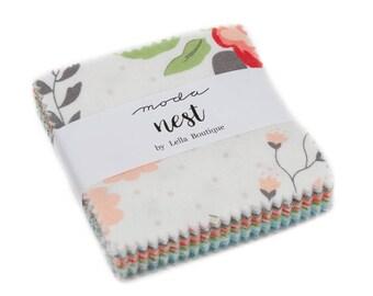 Nest (5060MC) by Lella Boutique - Mini Charm Pack