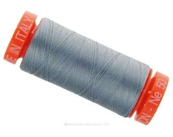 MK50 2610 - Aurifil Light Blue Grey Cotton Thread