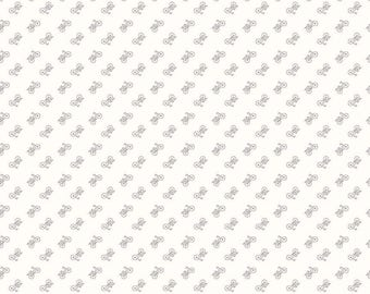 Bee Backgrounds By Lori Holt Bicycle Gray (C6389-Gray)