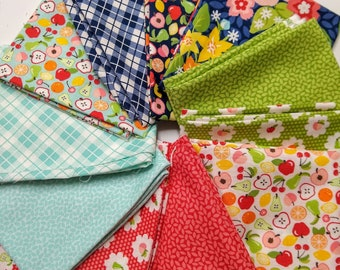 Orchard by April Rosenthal Custom Bundle - Varying Sizes, mostly FQs - 11 different pieces - April Rosenthal Orchard for Moda Fabrics