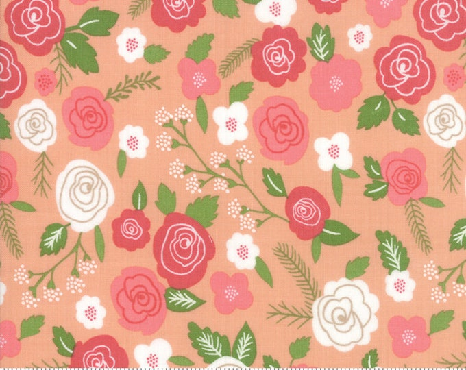 Lollipop Garden Springtime Blooms - Tangerine - Lollipop Garden by Lella Boutique - (5080 18)