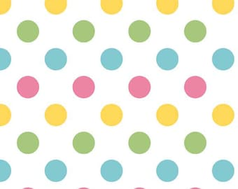 Medium Dots Girl, Riley Blake Designs (C360 03)